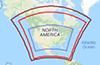Thumbnail Image of Regional Haze SIP Modeling Domain Map