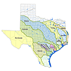 Map of River Basins with Adopted Flow Standards