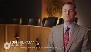 TCEQ Commissioner Jon Niermann discusses Mickey Leland Internship Program