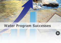 See the latest water quality successes