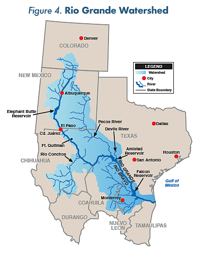 Figure 4. Rio Grande Watershed.