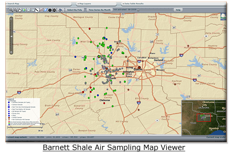 Thumbnail of Barnett Shale Viewer