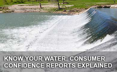 Consumer confidence reports provide people with information about the source or sources of their water. In Martindale, the water system there uses wells under the influence of the San Marcos River.