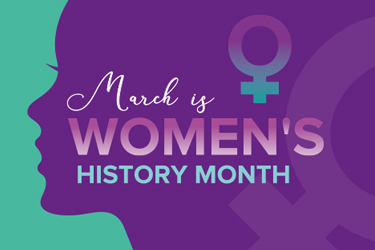 March is Women's History Month.