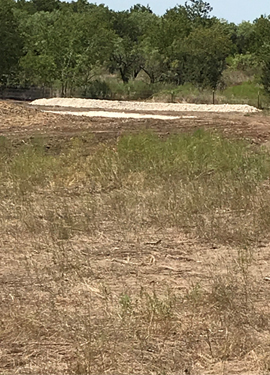 Stormwater control materials installed at the Gatesville Scrap Tire site now help to control runoff and erosion.