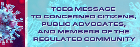 An open letter from Chairman Niermann on TCEQ's Covid-19 response