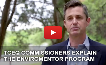 EnviroMentors are volunteer engineers, attorneys, licensed operators, and other professionals that generously share their expertise with customers in most need. EnviroMentors epitomize the highest calling of public service.