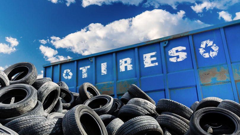 Scrap and used tires find new life