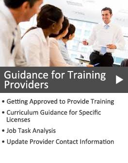 Training Providers