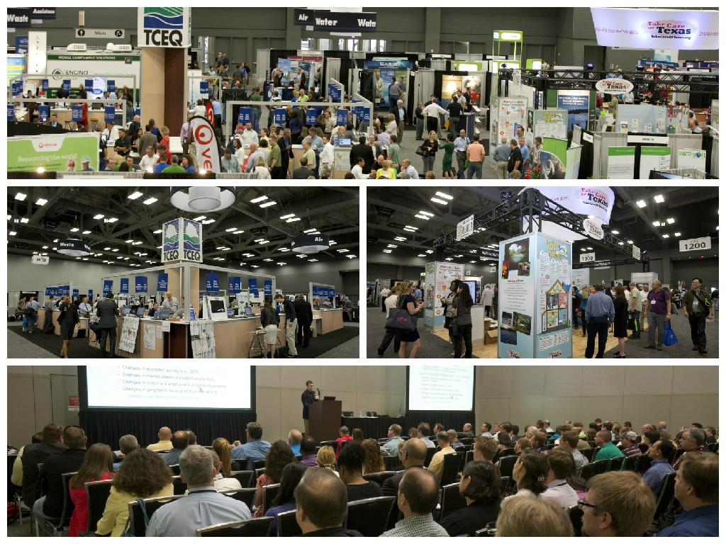 Trade Fair Photo Collage
