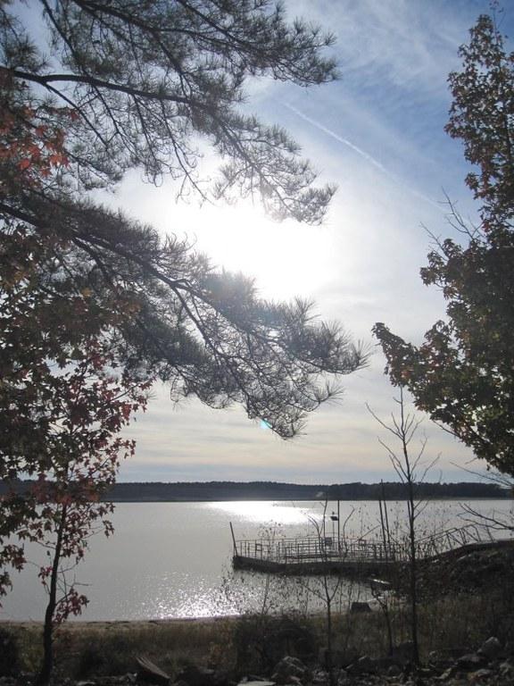 Lake O'Pines at Sunset