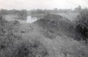 A historical photo from the 1950s of Petronila Creek at flood stage Thumbnail Image