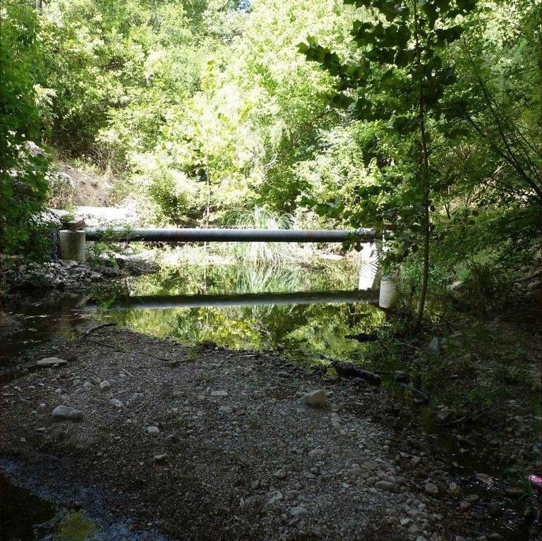 Camp Meeting Creek at SH173