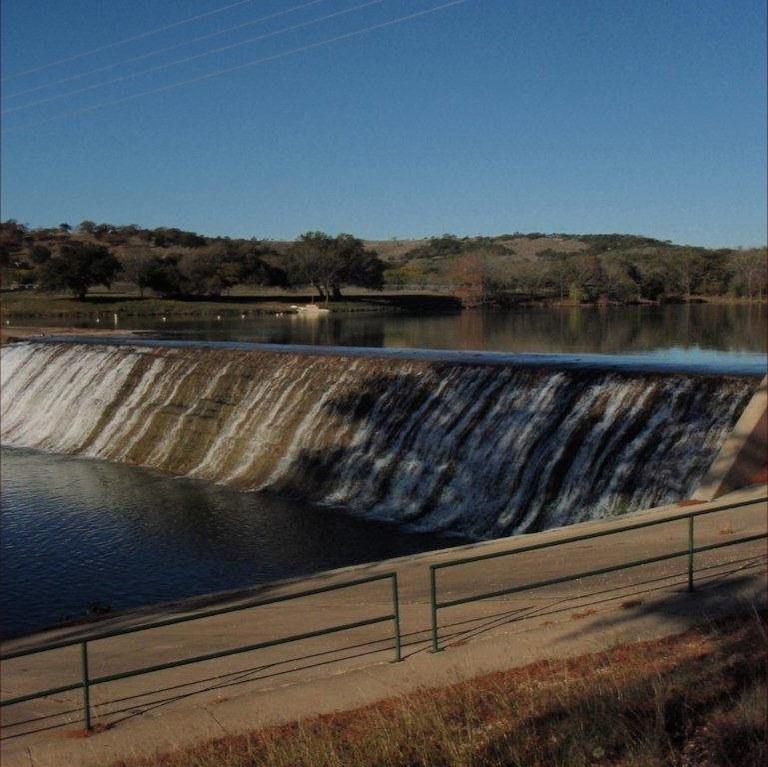 Guadalupe River at Nimitz Dam