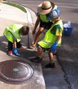 Marking a Storm Drain